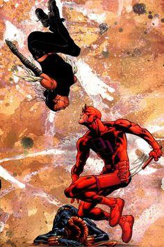 Daredevil vs Echo by Joe Quesada and Jimmy Palmiotti
