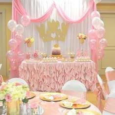Princess First Birthday Party - Pink Princess