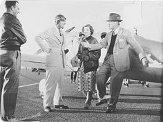 """""""Test Pilot"""" (1938) - Clark Gable and Myrna Loy acted alongside the racing aircraft of the day."""