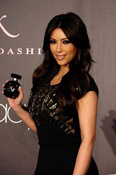 Kim Kardashian at perfume promotion