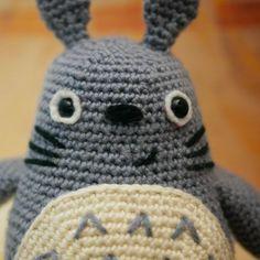 Peluche Totoro fait main au Crochet   Etsy