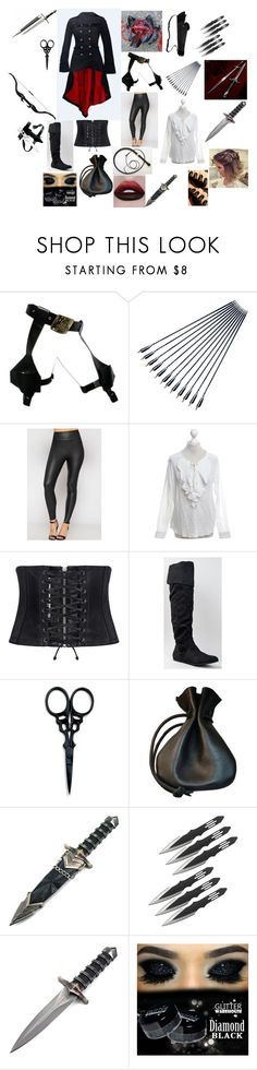 """Octavia's outfit"" by shadow-wolf2017 on Polyvore featuring Masquerade, WearAll, The Kooples, McQ by Alexander McQueen, Qupid, The BrowGal and GAS Jeans"
