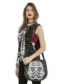 HOTTOPIC.COM - Star Wars Day Of The Dead Stormtrooper Saddle Bag