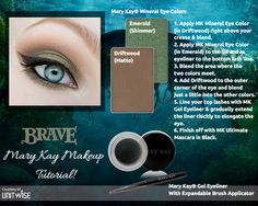 A fun and flirty, Disney - Brave Inspired Look with Mary Kay!  Call or Text: 225.369.7381 Shop Online: www.marykay.com/bekkakaye LIKE my Page: www.facebook.com/BekkaKayeMaryKay