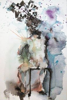 """Saatchi Art Artist Philippe Laferriere; Painting, """"Thoughts"""" #art"""
