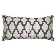 Threshold™ Applique Lumbar Pillow : Target