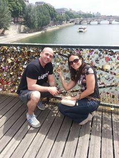 Pont des Arts - Paris, a cidade do amor! ❤