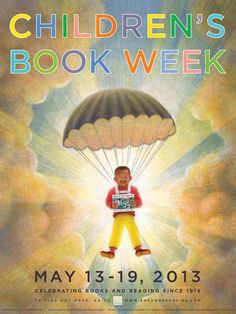 2013 Children's Book Week poster, designed by Brian Selznick