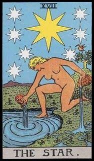 Las Revelaciones del Tarot: La Estrella - Simbologia - Tarot Rider Waite -