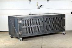Medios industriales de consola Mueble  aparador