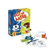 Hit Or Miss Game -- This game is great for fluent thinking and outside-of-the-box thinking!