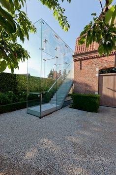 Glass Stairs, which looks great..until there's a zombie apocalypse.