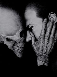 """""""Breathtaking suddenly takes on a new meaning with this image.""""~Sethaka. """"Fear of Death,"""" posted to the website Confessions of a Funeral Director in the guest article, """"Fear of Death: Even Funeral Directors Die"""" by Caleb Wilde."""
