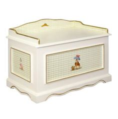 vintage toy box | Lovely Vintage Toy Chest for Children's Furniture, Classic Enchanted ...