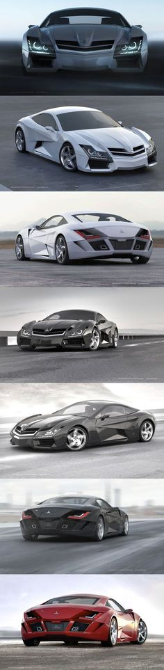Sick Mercedes super car concept. Follow us - Sexy Sport Cars