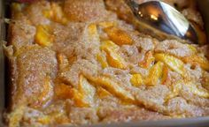 Best Peach Cobbler! - Easy Step by Step :)