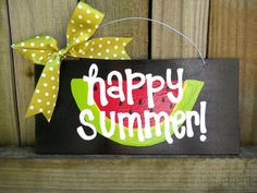 Happy Summer Sign