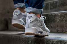 "Nike Air Max 90 Winter Premium ""Medium Grey"" (Preview) - EU Kicks: Sneaker Magazine"