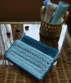 The Good Life: Blue Lagoon Spa Cloth Pattern