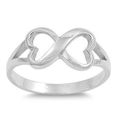 CloseoutWarehouse Sterling Silver Open Arrow Adjustable Wire Ring