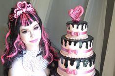 Cosplay monster high | Monster High Sweet 1600 Draculaura cosplay by ~CassowaryMarie on ...