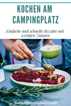 The Vanlife cookbook: recipes for the camping kitchen - Here you will find simple and quick recipes that need only a few ingredients and are easy to prepar - Cookbook Recipes, Cooking Recipes, Kitchen Recipes, Foil Pack Meals, Camping Meals, Camping Site, Camping Cabins, Backpacking Meals, Camping Cooking