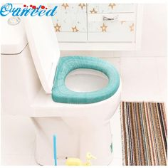 Home Wider Hot Selling New  Bathroom Toilet Seat Closestool Washable Soft Warmer Mat Cover Pad Cushion Drop Shipping Dec20 #Affiliate