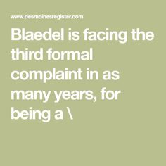 Blaedel is facing the third formal complaint in as many years, for being a \ African Nations, The Rev, General Conference, Iowa, Third, The Unit, Formal, Face, Pastor