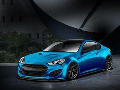 Hyundai Genesis Coupe JP Edition for SEMA 2013