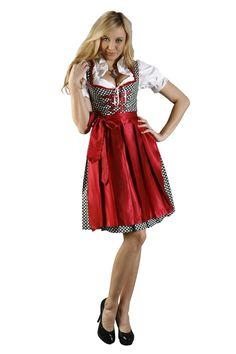 Amazon.com: Dirndl Womens 3-Piece Dirndl with Polka Dots: Clothing
