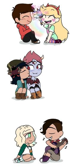 I don't necessarily ship Jackie and Oskar but this is cute art.