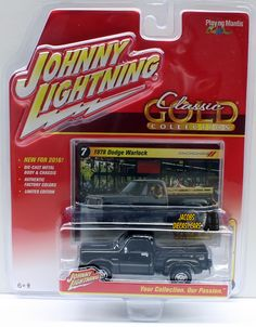 1:64 JOHNNY LIGHTNING CLASSIC GOLD RELEASE 2A - (2016) - 1978 DODGE WARLOCK #JohnnyLightning #Dodge
