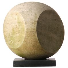 Abstract Limestone Sculpture | From a unique collection of antique and modern sculptures at http://www.1stdibs.com/furniture/more-furniture-collectibles/sculptures/