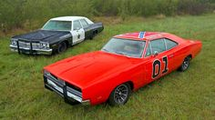 'General Lee' and the 'Bluesmobile'