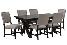 armen living zenith 5 piece corner dining set with benches gallery