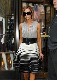 Victoria Beckham siempre se ve guapísima. ¿Qué es lo que más te gusta de su…