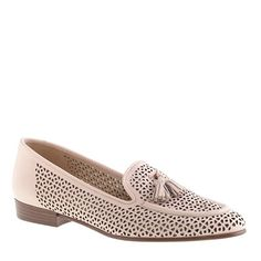 J. Crew Biella Perforated Tassel Loafer {on sale now with code BRINGSPRING}