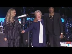Beyoncé Surprises at Jay Z's Hillary Clinton Rally to Save the Campaign - The Daily Beast