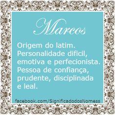 Significado do nome Marcos   Significado dos Nomes