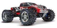 #Traxxas TRX3903 E-Maxx Monster Truck RTR TQi - Radio grafisch #modelbouw auto.