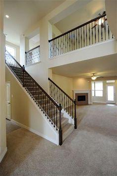 Open floor plan ... LOVE THIS!