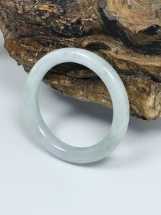 Excited to share this item from my #etsy shop: 41.1mm Icy Apple Baby Size Princess Cut Untreated Burmese Grade A Jadeite Jade Bangle/Icy Jade/Jade Bracelet/MOJ0235 Jade Bracelet, Stone Bracelet, White Jade, Jade Green, Burmese, Baby Size, Bangles, Bangle Bracelets, Princess Cut