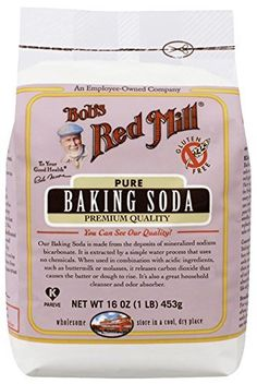 Shop the best Bob's Red Mill Pure Baking Soda 16 oz lb) g) Pkg products at Swanson Health Products. Trusted since we offer trusted quality and great value on Bob's Red Mill Pure Baking Soda 16 oz lb) g) Pkg products. Bobs Red Mill, Gluten Free Grains, Gluten Free Baking, Vegan Baking, Cereal Sin Gluten, Granola, Gluten Intolerance, Sodium Bicarbonate, Tips