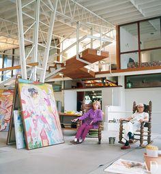 Willem de Kooning's Studio - Poéticas Visuais
