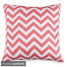 Shop for Chevron Pattern 24 x 24-inch Extra Large Pillow . Free Shipping on…