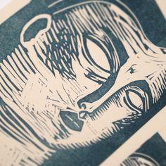Linocut & Letterpress workshop at Opificio della Rosa 2013 - LinocutBoy