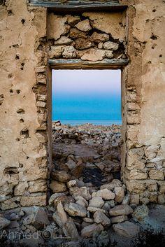 Window to the sea...