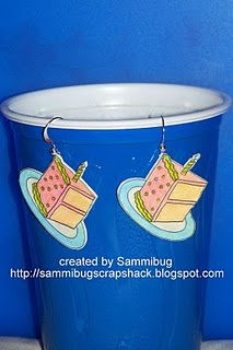 shrinky dink earrings with link to tutorial