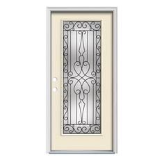 Therma tru benchmark doors 34 lite decorative mahogany inswing jeld wen wyngate insulating core full lite left hand inswing steel primed prehung entry door common x 80 eventshaper