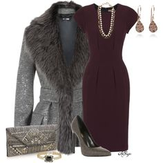 Elegant in Shearling Contest, created by kginger on Polyvore